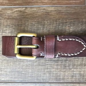Ralph Lauren Polo leather belt